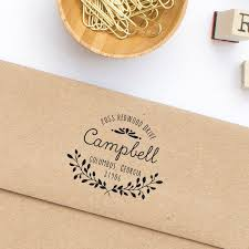 Return Address Label Stamp Personalized Address Stamps Wedding Best