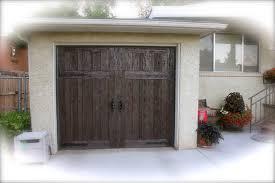 faux wood garage doors