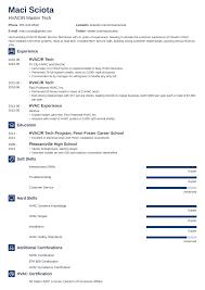 Hvac Technician Resume Sample Guide 20 Examples