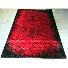 red round rugs for marvelous large area rug gy modern floor decor leaf persian red round rugs