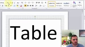 How To Create Table Tents In Word How To Make A Tent Card In Word Youtube