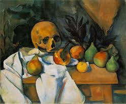 still life with skull paul cezanne cezanne paintings art