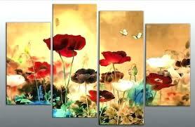 poppy wall art uk