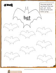 Check out our different sets of worksheets that help kids practice and learn phonics skills like beginning sounds, rhyming and more. Halloween Phonics At Words Worksheet Prek Grade1