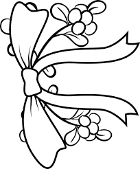 Small Picture mistletoe coloring pages 28 images mistletoe coloring page az