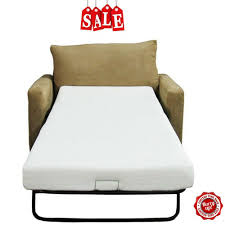 details about sofa memory foam mattress replacement bed twin size couch sleeper chair futon