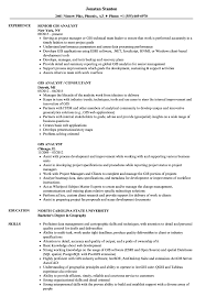 Gis Analyst Sample Resume Gis Analyst Resume Samples Velvet Jobs 7