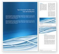 Ms Word Page Designs Art Design Word Template 03016 Poweredtemplate Com