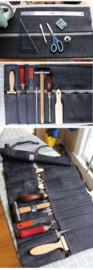Best Diy Tools Best 25 Tool Roll Ideas On Pinterest Leather Working Leather