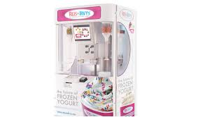Froyo Vending Machine Classy Reis Irvy's Robotic Frozen Yogurt Robot VendingMarketWatch