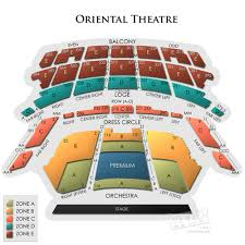 Oriental Theatre Chicago Tickets