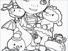 Doc Mcstuffins Coloring Pages Good Coloring Pages With Detai For Doc