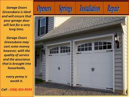garage doors greensboro is ideal and will ensure that your garage