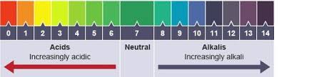 Universal Indicator Ph Color Chart Identify The Regions Of Acidity Neutrality Alkalinity Of