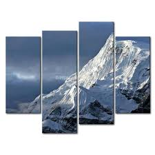 3 piece wall art painting snowy mountains cloudy sky snow mountain picture print on canvas landscape on 3 piece wall art mountains with 3 piece wall art painting snowy mountains cloudy sky snow mountain