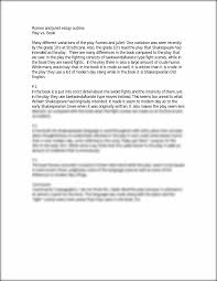 introduction to romeo and juliet essay romeo juliet essay love  paragraphs on romeo and juliet romeo and juliet
