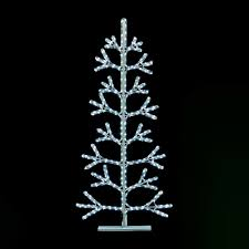 White Lighted Christmas Trees Outdoors Details About 1 5m Twinkling Rope Light Christmas Tree White Led Xmas Outdoor Inc Power Lead
