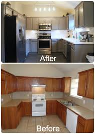 Diy Kitchen Cabinets Makeover Grey Kitchen Cabinets Diy Quicuacom
