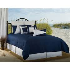delectably yours latitude 11 navy blue and white nautical bedding collection