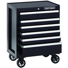 Craftsman 6 Drawer Rolling Cabinet Craftsman 113748 6 Drawer Premium Heavy Duty Rolling Cabinet