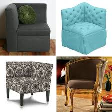 After living in a small space one may start to get creative with how to  appoint limited square footage. After setting our sights on a corner chair  while ...