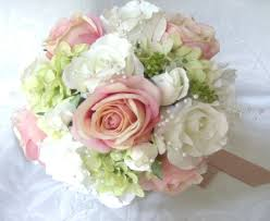 Flowers Gorgeous Silk Wedding Bouquets For Wedding Accessories