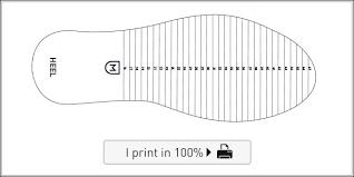Shoe Size Guide Monsieur Chaussure