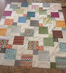 Queen Size Quilt Patterns Adorable Disappearing 48Patch With Layer Cakes