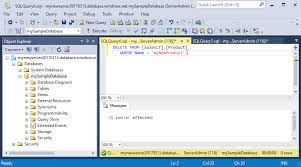 ssms connect and query data in azure sql database microsoft docs delete