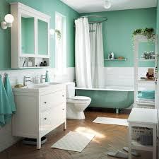 bathroom storage under sink. A Light Green, Blue And White Bathroom With Traditional Bathtub Double Sink Cabinet. Storage Under