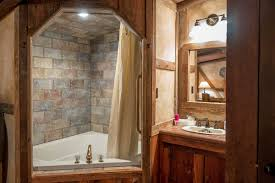 small soaking tub shower combo corner bath bathroom with alcove bathtub and limestone wall use jk