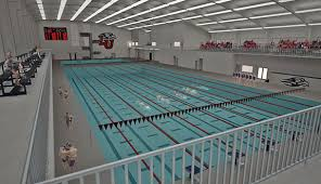 an artist rendering s view from the inside of liberty university s natatorium being constructed on liberty