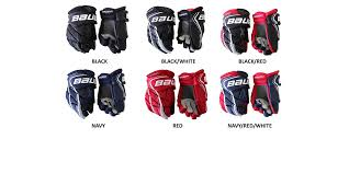 Bauer Hockey Gloves Size Chart Bauer Vapor X900 Lite Jr Hockey Gloves