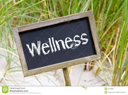 Wellness Sign Stock Image Image Of Blackboard Sign 33479857