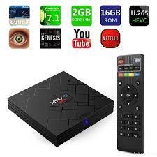 Hộp Android TV Box OTT M96X II Mini ram 2G bộ nhớ 16G - Android TV Box,  Smart Box Nhãn hàng No Brand