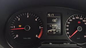 Vw Polo Catalytic Converter Warning Light Vw Polo 1 6 Tdi Yellow Light Dashboard Youtube