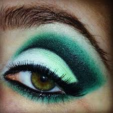 fashion makeup looks for blue eyes brown hair astonishing something like this green or light blue color would look beautiful gallery makeup looks for blue