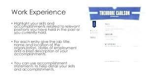 Achievements Cv Template On Resume Job Accomplishments Sample