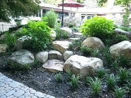 rock landscaping ideas big garden innovative large about with rocks on park backyard
