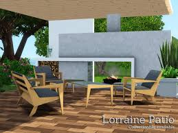 sims 3 cc furniture. Lorraine Modern / Contemporary Patio Furniture By Angela - Sims 3 Downloads CC Caboodle Cc