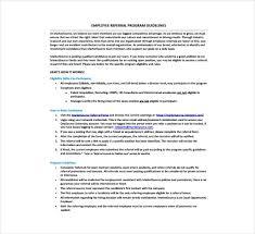 4 Templates Employee Referral Form Free Premium Templates