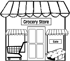 Restaurant Coloring Page Restaurant Coloring Pages Magdalene Project Org