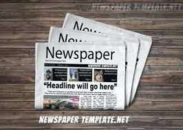 Newspaper Template App Interactive Newspaper Template The Newspaper Has Been Released On