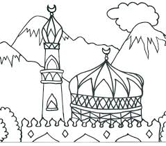 Islamic Coloring Pages To Print Printable Patterns For Adults Drawn