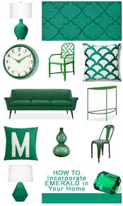 incorporate emerald home decor elements in your how to idolza