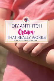 homemade diy anti itch cream