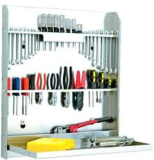 tool hanging rack wall mounted tool rack garage wall tool holder hanging tools on wall metal