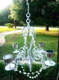 solar powered chandelier outdoor solar powered