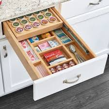 In order to reduce the shipping cost the insert comes disassembled. Rev A Shelf K Cup Drawer Coffee Pod Storage Kitchen Remodel Small Kitchen Storage Organization