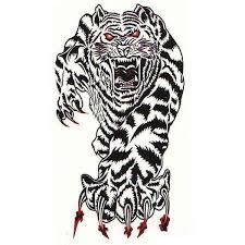 Verashop Nalepovací Tetování Tygr